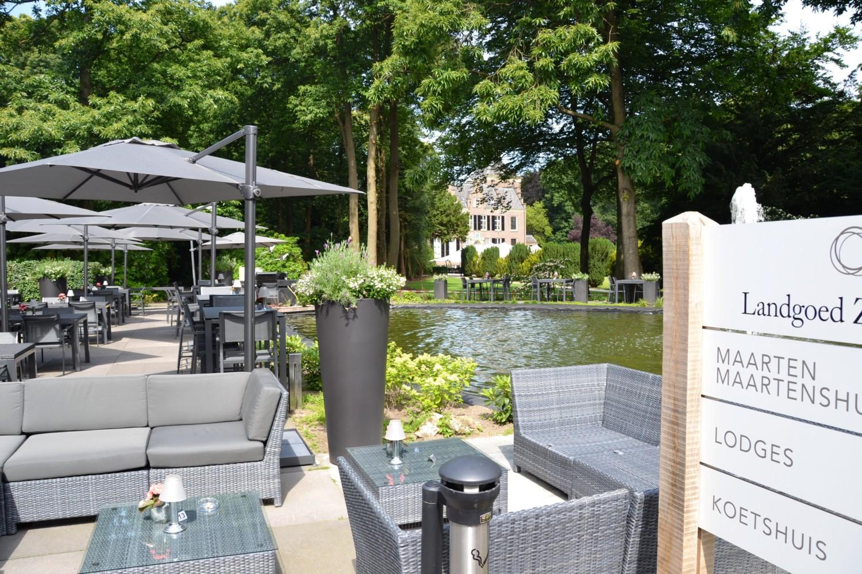 Nieuwe menukaart voor de zomer restaurant landgoed zonheuvel landgoed zonheuvel - Overdekt terras voor restaurant ...