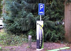 MVO Duurzaam Landgoed Zonheuvel laadpaal electrische auto en fiets
