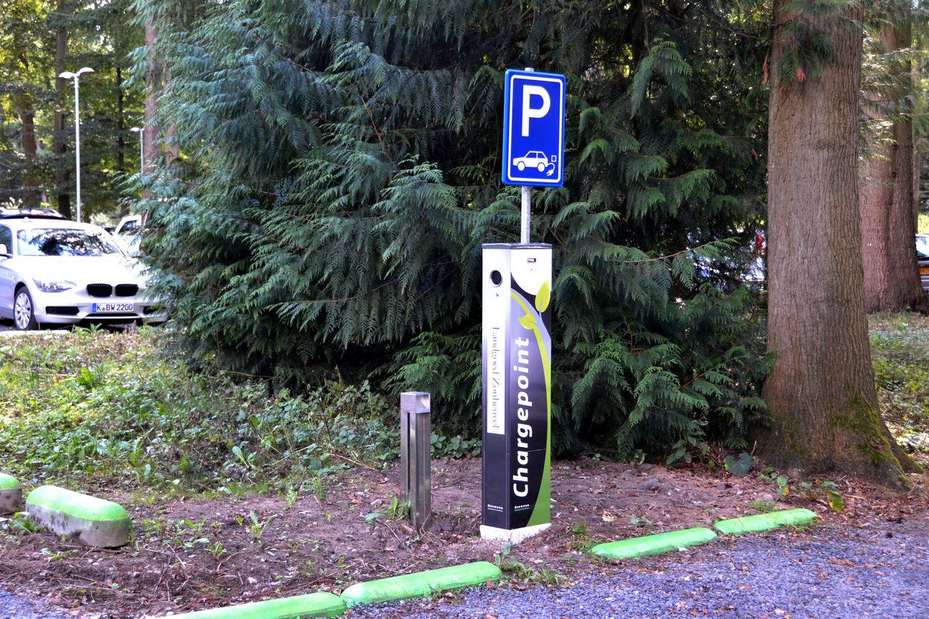 MVO Duurzaam Landgoed Zonheuvel laadpaal electrische auto fiets