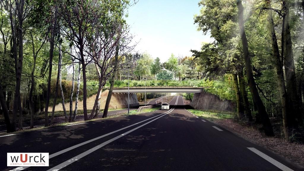 Ecoduct N227 Landgoed Zonheuvel Doorn