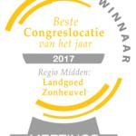 Congreslocatie van het Jaar 2017 - regio winnaar