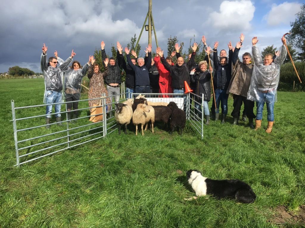 Landgoed Zonheuvel Workshop Schapendrijven Hondenspiegelen