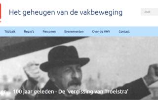 Bijeenkomst Vrienden van de Historie van de Vakbeweging (VHV) Landgoed Zonheuvel